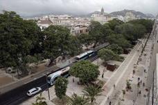 Un asfalto que se traga la contaminación para la nueva Alameda