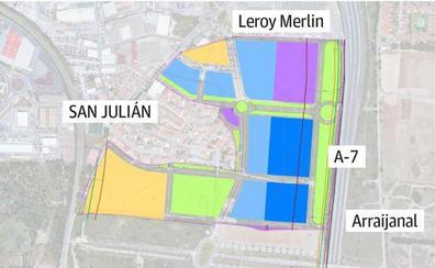 La burocracia frena dos proyectos de suelos para oficinas y empresas junto a San Julián