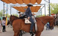 Jinetes y caballos toman el protagonismo en la Feria de Ronda