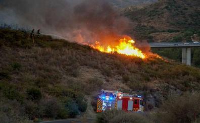 Dejan en libertad provisional a la mujer detenida por los incendios de Marbella