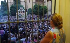 La Virgen de la Victoria regresa este domingo a su santuario desde la Catedral