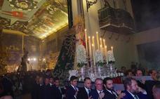 Los titulares de la Archicofradía del Paso y la Esperanza regresan a su basílica tras las obras de reforma