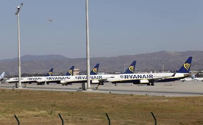 Sin cancelaciones en la tercera jornada de huelga de tripulantes de cabina de Ryanair