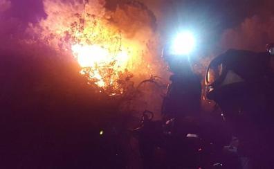 Controlado el incendio declarado anoche en Benahavís