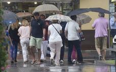 Málaga, en aviso amarillo por tormentas este domingo