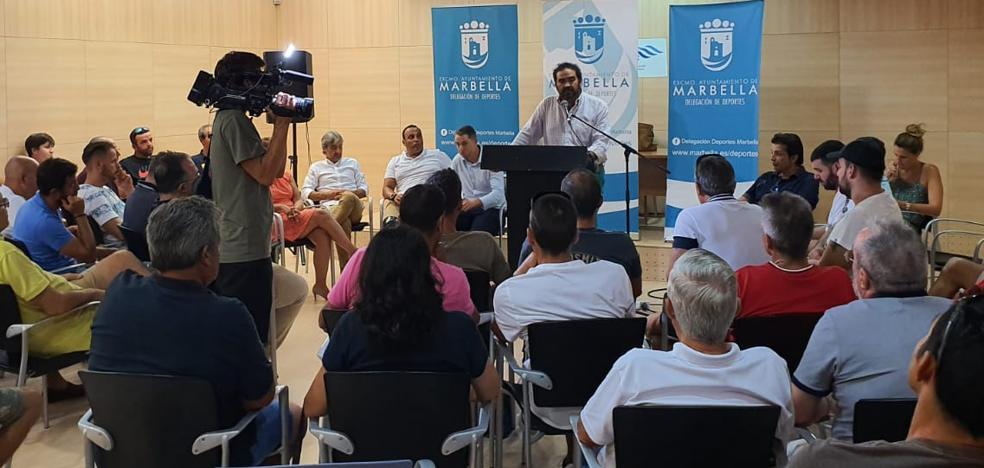 El Ayuntamiento de Marbella creará un Consejo de Deportes para consensuar su política con los clubes