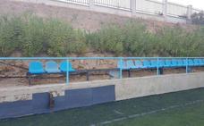 Torremolinos: un campo de fútbol escabroso