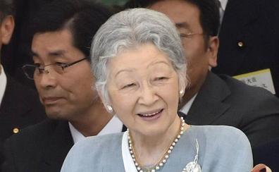 La exemperatriz japonesa se somete a una operación de cáncer de mama