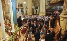 Los malagueños arropan a la Patrona en la misa en la Catedral de Málaga