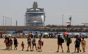 La lluvia dará una tregua en Málaga, que volverá a estar en aviso el martes