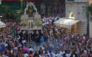 Málaga, a su Virgen de la Victoria