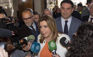 Susana Díaz asegura que el consejero de Salud debe marcharse por la listeriosis y Juan Marín considera que está fuera de lugar