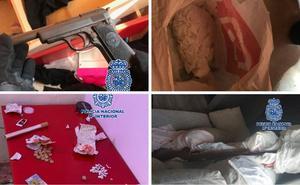 Desmantelan cuatro puntos de venta de droga en La Trinidad y detienen a nueve personas
