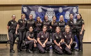 Pioneras del uniforme azul
