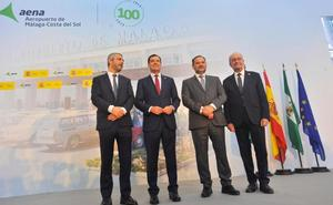 El aeropuerto de Málaga cumple un siglo con 400 millones de pasajeros y el reto de ser referente en innovación