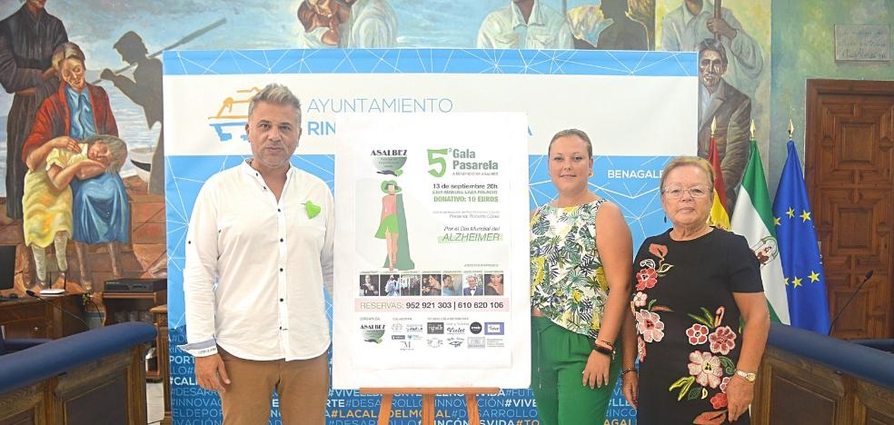 Rincon de la Victoria celebrates the fifth edition of the gala-catwalk for the benefit of the Alzheimer's association Asalbez