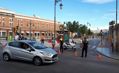 La obra del hotel de Moneo corta uno de los accesos al pasillo de Santa Isabel