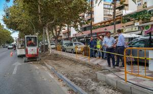 El Ayuntamiento de Marbella mejorará el margen norte de la avenida Severo Ochoa para la seguridad de los peatones