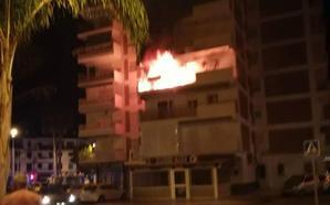 En estado grave un hombre herido por un incendio en Torre del Mar