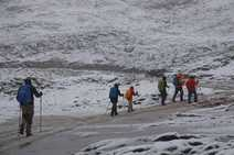 Nieve en verano: Los Picos de Europa ya se cubren de blanco