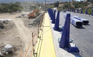 El puente sobre el río Fahala en Villafranco del Guadalhorce estará abierto al tráfico a finales de mes