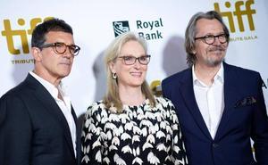 Meryl Streep y Gary Oldman promocionan el Teatro del Soho Caixabank