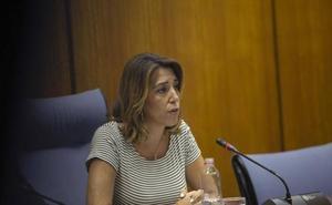 Susana Díaz critica la falta de humanidad y transparencia en la gestión de la listeriosis y censura que se pretendan devolver competencias
