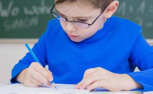 Un examen para entrar en la escuela con 4 y 5 años