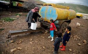 Los colonos del Jordán miran a Donald Trump