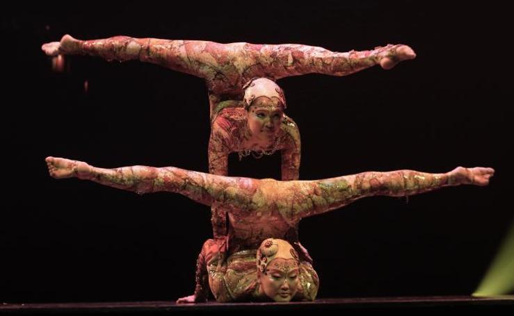 El Circo del Sol estrena en Málaga su espectáculo 'Kooza'