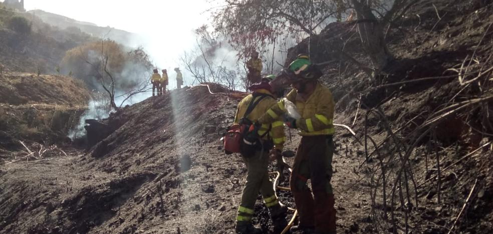 Charged for causing a fire in Torrox that calcined 7.5 hectares of scrubland, crops and lowland