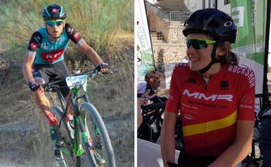 Los malagueños Pablo Guerrero y Natalia Fischer, seleccionados para el Mundial de bicicleta de montaña