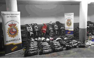 Detenido en Marbella por robar ciclomotores en varias localidades de la costa occidental