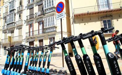 Los patinetes no podrán circular por la acera en Málaga con la nueva ordenanza