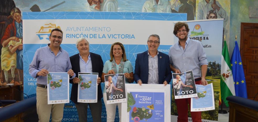 Rincon de la Victoria will host the first Nuevo Futuro Málaga and Añoreta Golf Charity Tournament