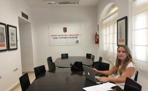 EL PSOE protesta porque a sus ediles les faltan cinco mesas y tres ordenadores en el Ayuntamiento de Málaga