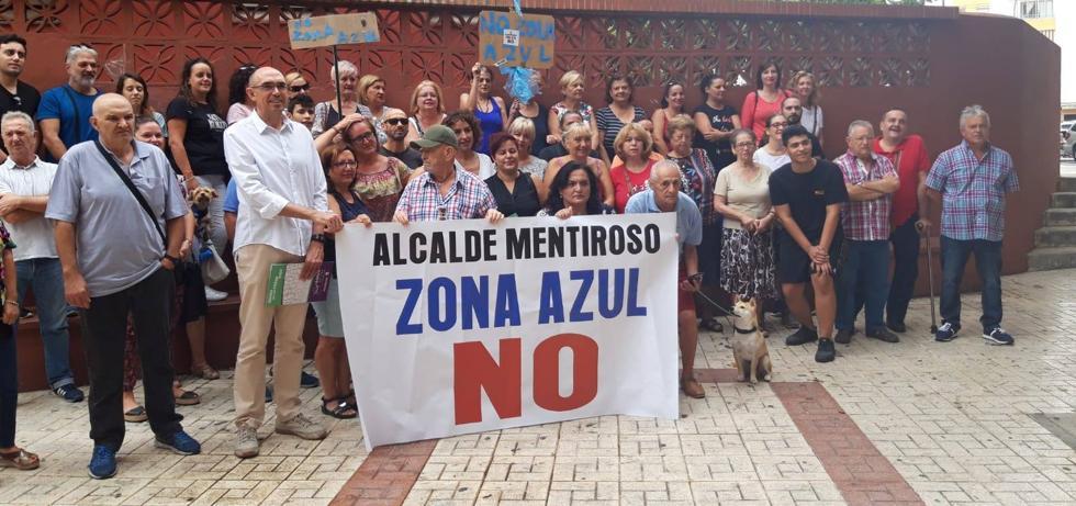 PSOE y Adelante Málaga llevan a Pleno su rechazo a la zona azul en La Unión