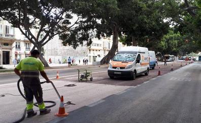 Los vehículos particulares podrán volver a circular por la Alameda Principal el próximo lunes