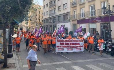 CC OO desconvoca la huelga indefinida de ambulancias de la empresa malagueña ASM