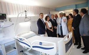 El Materno dispone ya de tres cámaras de aislamiento mejores para el trasplante de médula ósea en niños
