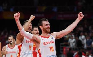 Las mejores fotos del España-Australia