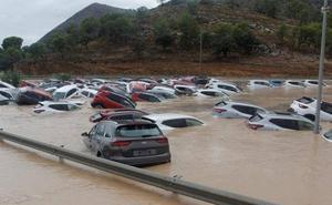 Fotos: La gota fría inunda el sureste peninsular
