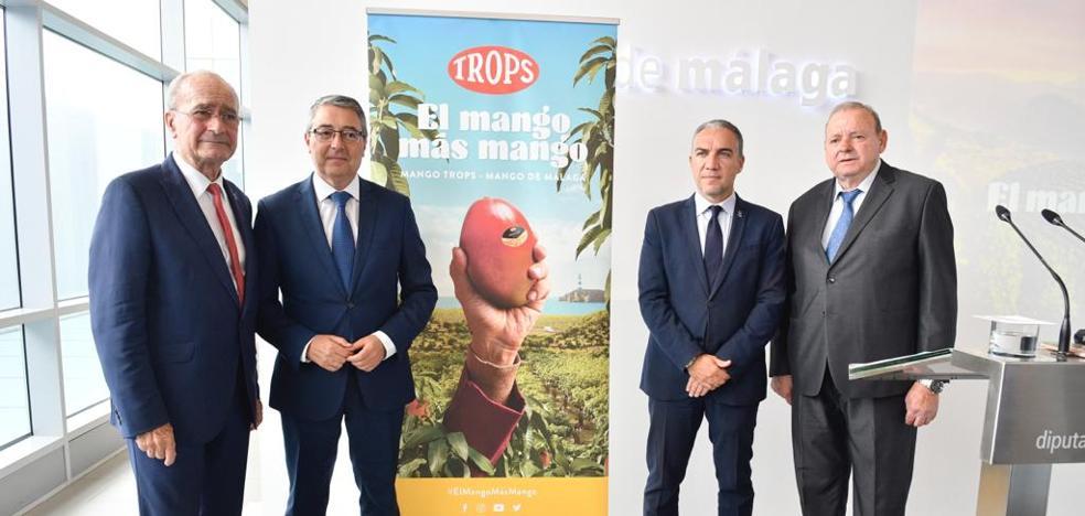 Trops pone en valor el mango de Málaga con una ambiciosa campaña para dar a conocer la fruta en el mercado nacional