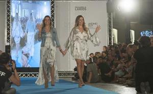 Barbara y Nicole Kimpel presentan su marca 'Baniki' en la Pasarela Larios