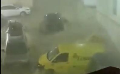 El Valle del Guadalhorce, la zona más afectada por las fuertes lluvias