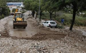 El temporal sobresalta a Málaga
