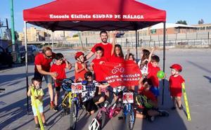 El Club Ciclista Ciudad de Málaga crea una escuela de formación base en la capital