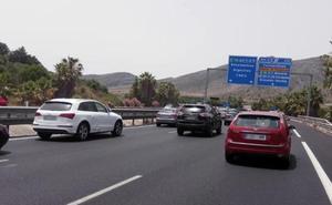 Dos mujeres y dos menores heridas en Torremolinos tras salirse su vehículo de la calzada