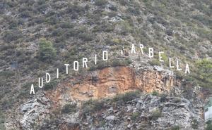 El Ayuntamiento de Marbella restaurará las letras metálicas de la Cantera de Nagüeles