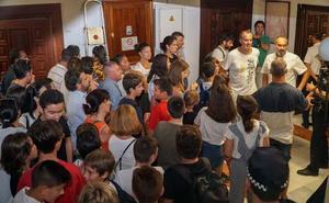 Comienza el curso en Marbella en Secundaria y Bachillerato con 110 alumnos en barracones